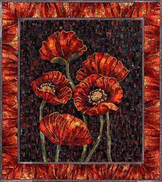 Poppies - mosaics
