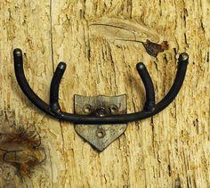 Buck Coat Hook - Deer friendly welded Antlers