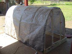 Chicken Tractor (light, arch, no nest)