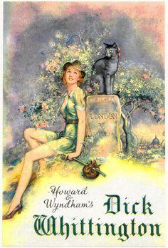 Dick Whittington pantomime poster