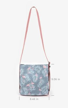 The *Dailylike Shoulder Bag* is a cute and functional shoulder bag! It is a classically shaped shoulder bag with a highly adjustable and durable shoulder strap. It comes in 4 pretty styles; each style has a vivid pattern and varies in the strap co...