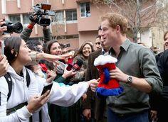 Prince Harry Photos - Prince Harry Visits Chile - Day 2 - Zimbio