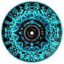 Astral Void Mandala Porcelain Plate