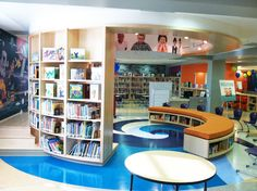 Weinberg Foundation Library Project: The Reading Area at the Moravia Park Elementary School Library