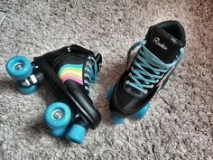 "Ever since James Plimpton came up with the first set in roller skates for women have been responsible for ""rinkomania"" – the desire to use skates inside and out of rinks for purposes ranging Rio Roller, Roller Rink, Roller Derby, Roller Skating, Best Roller Skates, Outdoor Roller Skates, Retro Roller Skates, Cute Shoes, Boots"