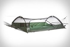 if I'm ever in the Hunger Games, I hope I have this in my bag...Blue Ridge Camping Hammock