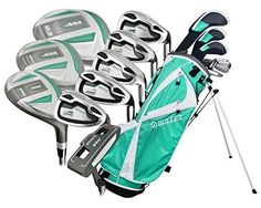 Bullet Golf Women's .444 Complete Set with Bag, Emerald