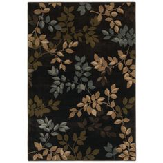 Mohawk Home�Alcott 8-ft x 11-ft Rectangular Brown Transitional Area Rug - thinking for the bedroom