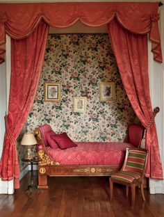 Traditional Bedroom in Auvergne, France