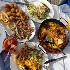 Блюдооблизывательные Spanish food