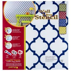 Get Agadir Tile Wall & Floor Stencil online or find other Stenciling products from HobbyLobby.com