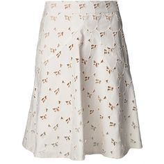 STELLA MCCARTNEY a-line heart skirt