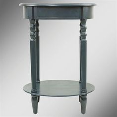 Reigna Navy Oval Accent Table