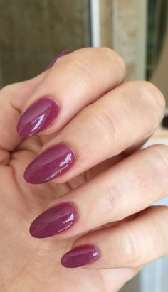 Angela's fall SNS #252, deep berry color