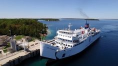 The Ferry Boat the MS Chi-Cheemaun in Bruce County and on the Bruce Peninsula Canoe Rental, Kayak Rentals, Tobermory Ontario, Flowerpot Island, Ferry Boat, Boat Tours, Niagara Falls, Kayaking, National Parks