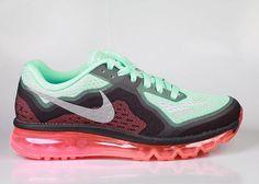 Nike Women's Air Max 2014 Hyper Turquoise Hyper Punch