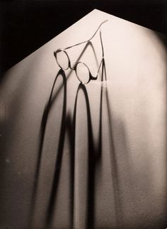 Glasses, (circa 1937) by Olive Cotton