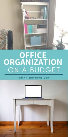 Office Organization Tips and DIY Organizing using Things You Have Already. Office organization at work or office organization for your home office, these hacks make it easy to organize an office on a budget, and quickly! Whether you want to organize your desks, files, or paperwork, these tips will help you declutter and organize your office without buying big ticket items. Office Organization At Work, Organization Hacks, Organized Mom, Getting Organized, Closet Bedroom, Kitchen Shelves, Bathroom Cabinets, Desks, Declutter
