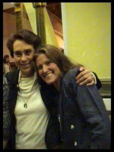 Senator María de los Ángeles Moreno & Patty Aguirre.