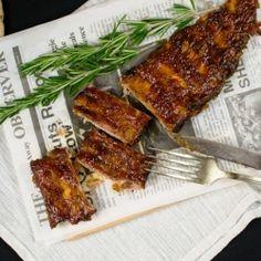 Tender pork ribs