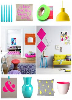 NEON home shopping: get fresh! check out www.facebook.com/dirksdotter for more info about the products shown