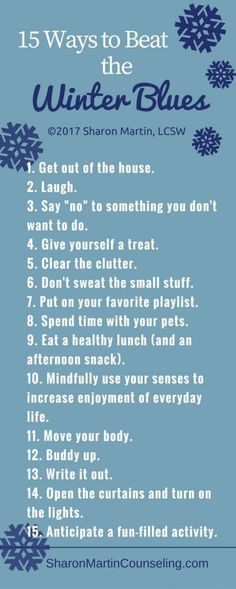 15 ways to beat the winter blues, seasonal affective disorder, depression Beating Depression, Overcoming Depression, Dealing With Depression, Depression Help, Depression Recovery, Depression Awareness Month, Yoga, Successful People, Psicologia