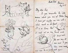 Beatrix Potter (1866-1943) Autograph letter to Eric Moore, August 21, 1892 Cotsen Children's Library. Department of Rare Books and Special Collections. Princeton University Library