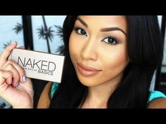 Urban Decay Basics Palette Tutorial (Perfect for Work/School) - YouTube