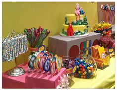 Yo Gabba Gabba Candy Table: Brooklyn's Birthday Party