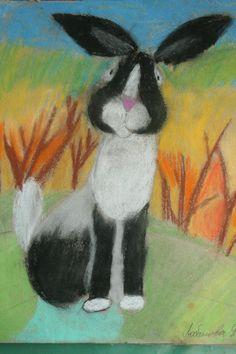 весенний заяц