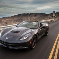 2014 Chevrolet Corvette Stingray Convertible Front Three Quarter In Motion 04