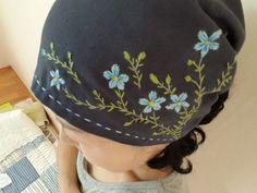 1번 자수여행 자수두건 : 네이버 블로그 Bucket Hat, Diy And Crafts, Baseball Hats, Quilts, Sewing, Blog, Fashion, Caps Hats, Moda