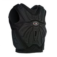 black Martial Armor Vest