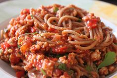 spaghetti bolognese a la indyk!