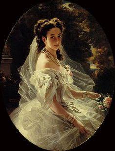 Pauline Sandor Princess Metternich 1860