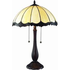 Chloe Tiffany Style 2-light Table Lamp | Overstock.com Shopping - The Best Deals on Table Lamps