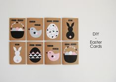 DIY Modern Easter Cards - northstory.ca
