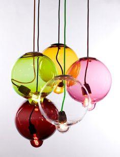 Cappellini - Lampada Meltdown   Design: Johan Lindstén   Anno: 2013   Materiali: Vetro   #design #multicolour