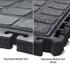The Hog Heaven II Anti Fatigue Modular Tiles with a grit surface are an excellent solution when a comfortable, durable, indoor anti fatigue flooring is required. The Hog Heaven II Anti Fatigue Modular Tiles are tough as nails and last for years. Assembly is quick and easy, and these tiles remain securely connected, even in the most demanding situations. - See more at: http://www.greatmats.com/entrance-mats/anti-fatigue-tiles-hog-heaven-II-modular-middle-18x18-grit.php#sthash.Bh0iD9Y6.dpuf