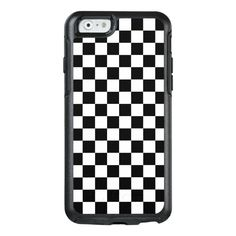 Checkerboard OtterBox iPhone 6/6s Case #checkerboard #chessboard #checkered #checks #black #OtterBoxiPhone66sCase. International shipping. #phonecases #iphonecases Ipod Touch Cases, Bling Phone Cases, Diy Phone Case, Iphone Cases, Otter Box, Vintage Phone Case, Usb, Aesthetic Phone Case