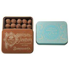 【バレンタインデー届け専用】缶入アーモンドチョコレート 2缶セットB