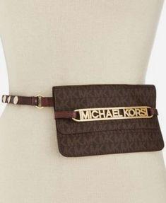 9da32be2dbc3 MICHAEL Michael Kors Logo Fanny Pack #michaelkorswomenbag #designerhandbag  #womenhandbags