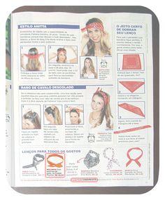 Zoom Revista Viva! Mais - edição 732. Com Dolly Bow da Cookie Plushie na matéria sobre bandanas.