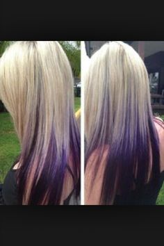 Platinum Blonde Hair With Red Streaks Hairstyles For