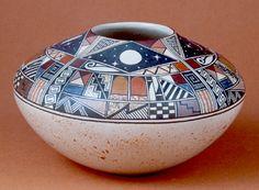 Hopi Pueblo Pottery | Native American Indian Art Pottery | Desert Pottery
