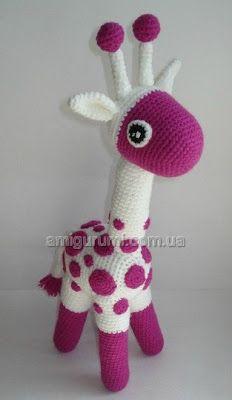 Amigurumi giraffe/ alpaca/ llama on Pinterest Giraffes ...