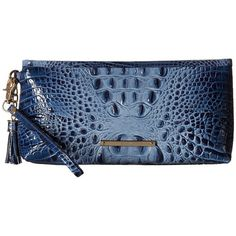 A removable strap makes this your most versatile small accessory. With a zipper across the top, carry as a wallet inside a larger handbag by day, then carry as… Denim Handbags, Large Handbags, Shoe Bag, Polyvore, Stuff To Buy, Accessories, Larger, Zipper, Wallet