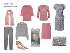 6 маленьких гардеробов для разных цветотипов:Идеальный гардероб