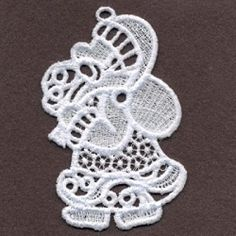 FSL Filigree Christmas 14 - 4x4 | What's New | Machine Embroidery Designs | SWAKembroidery.com Ace Points Embroidery