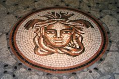 Medusa mosaic by Dmitri Polyakov